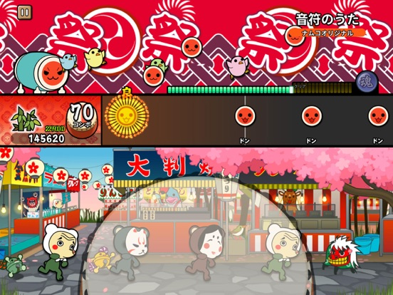 Taiko no Tatsujin Pop Tap Beat screenshot 16
