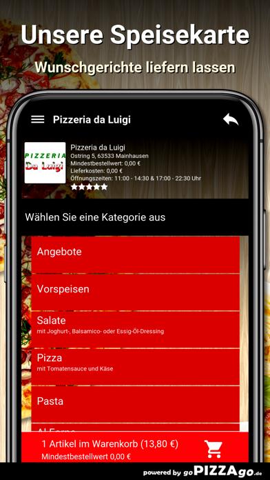 Pizzeria da Luigi Mainhausen screenshot 4