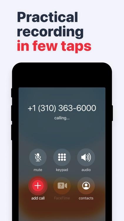 Call Recorder: Voice Recording screenshot-4