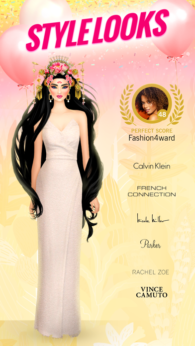 Screenshot from Covet Fashion: Model Makeover