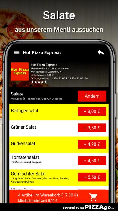 Hot Pizza Express Wannweil screenshot 5