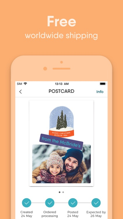 TouchNote: Photo Cards For All screenshot-4