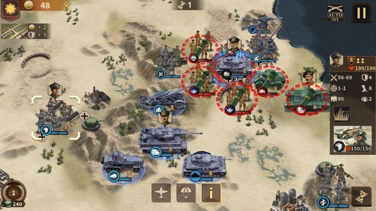 钢铁命令-将军的荣耀3 screenshot-6