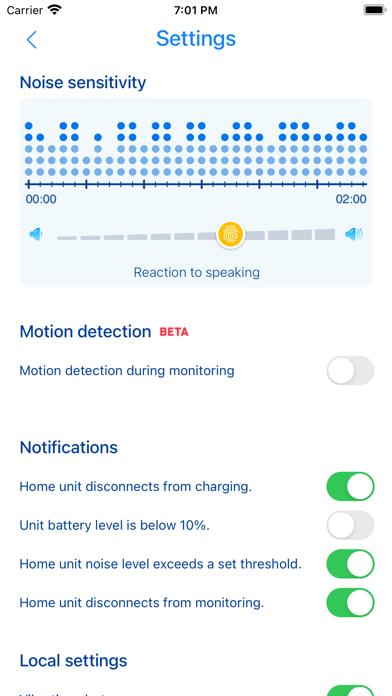 Home Security Monitor Camera Screenshots