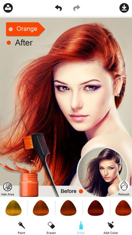 Hair Color Dye -Hairstyles Wig
