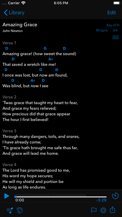 SongSheet Pro School Edition Screenshot