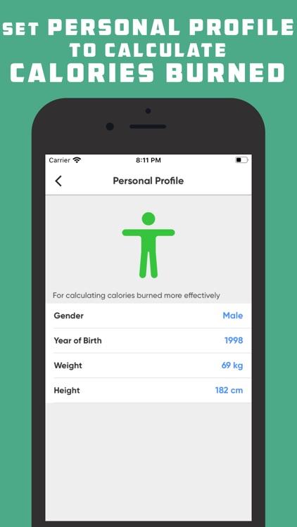 Pedometer & Step Tracker screenshot-4