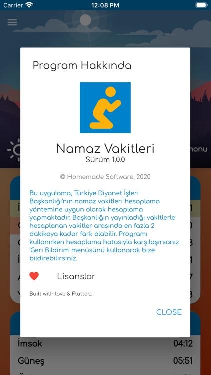 Namaz Vakitleri+Kıble Pusulası screenshot-5