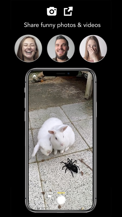 AR Spiders & Co: Scare friends