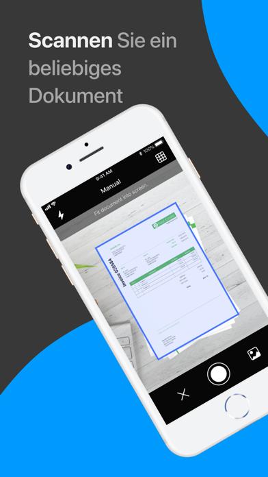 Scanner App: Scannen von PDFScreenshot von 1