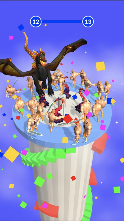 Climb The Tower 3D screenshot-4
