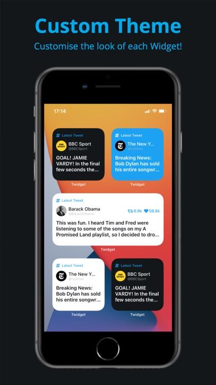 Twidget - Widget for Twitter