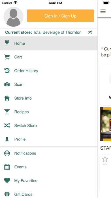 Total Beverage Inc.Screenshot of 5