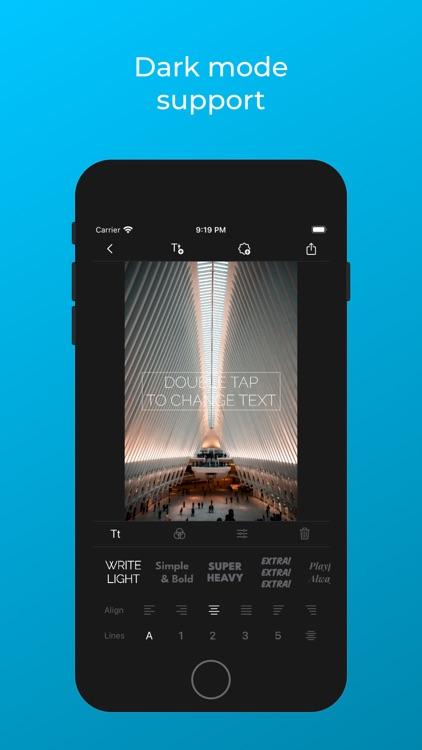 Peel - Add Text to Photos screenshot-6