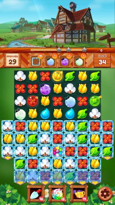 ガーデンドリームライフ:フラワーマッチ3パズルのおすすめ画像3