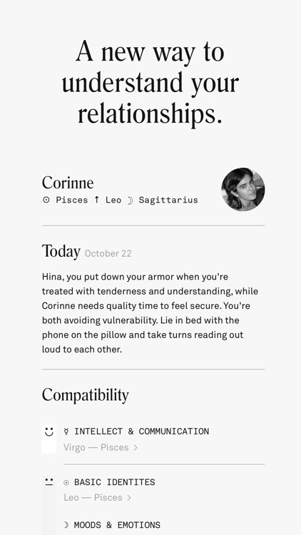 Co–Star Personalized Astrology screenshot-3
