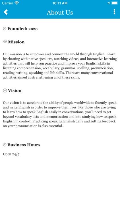 The English University
