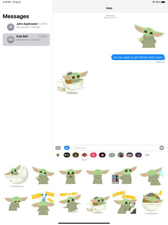 Grogu™ Sticker Pack screenshot 5