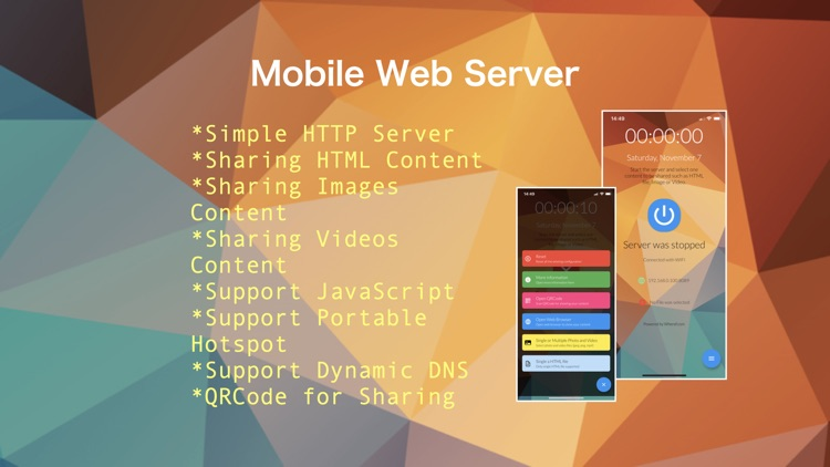 Mobile Web Server