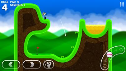 Super Stickman Golf 3+ screenshot 1