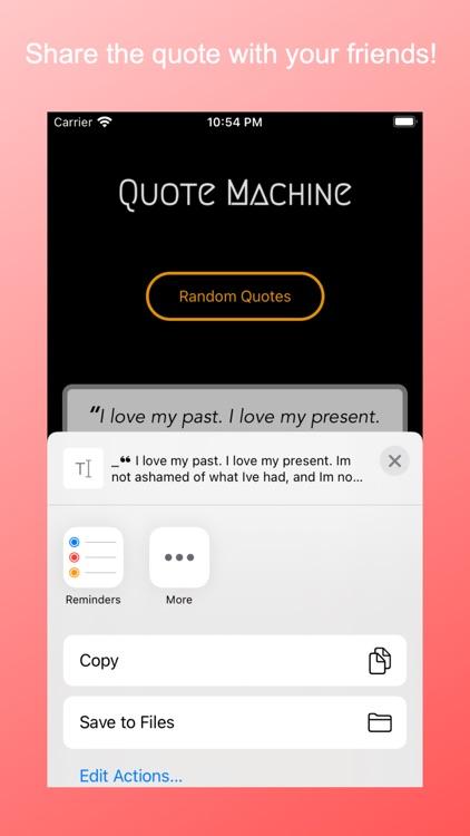 Quote Machine screenshot-4
