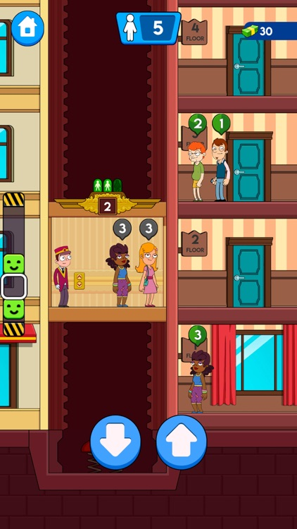 Hotel Concierge: Elevator Game screenshot-0