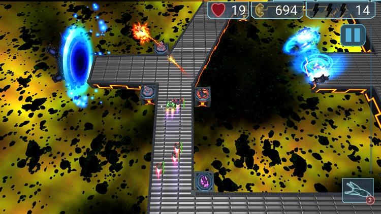 Neon Defenders Premium Defense screenshot-0