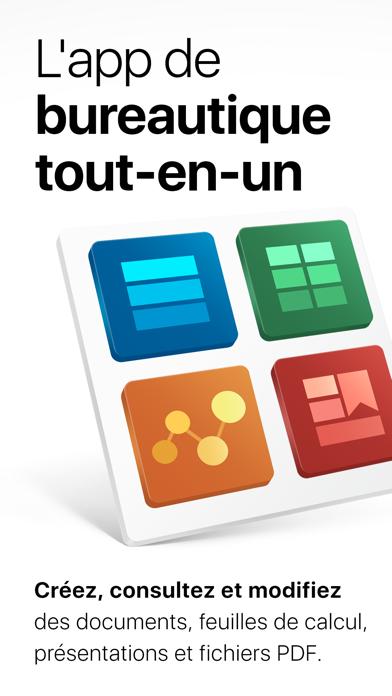 Screenshot #1 pour OfficeSuite et éditeur de PDF