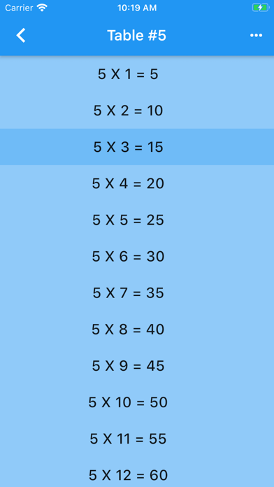 Audible Math Tables Pro screenshot 3