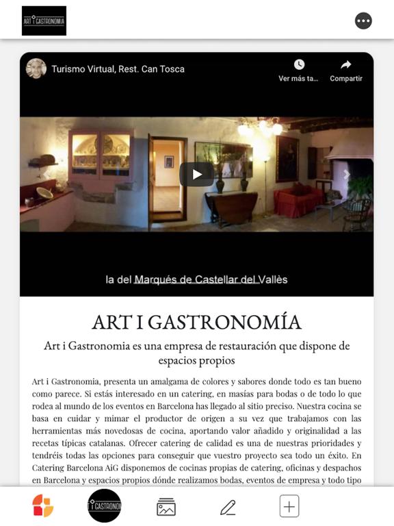Art i Gastronomia screenshot 2