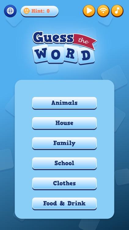Guess the Word - Fun Game screenshot-5