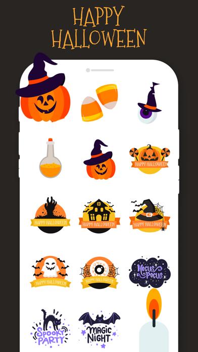 Halloween Stickers!!! screenshot 2