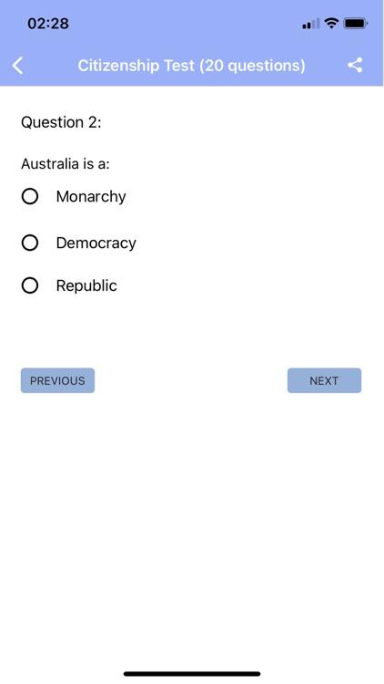 Australian Citizenship Test screenshot-3