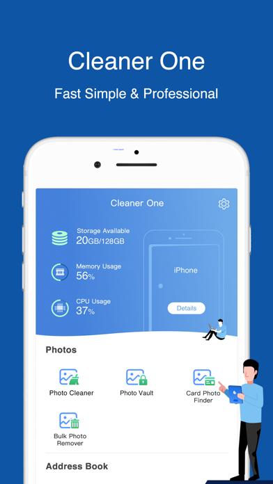 Cleaner One - Clean StorageScreenshot von 1