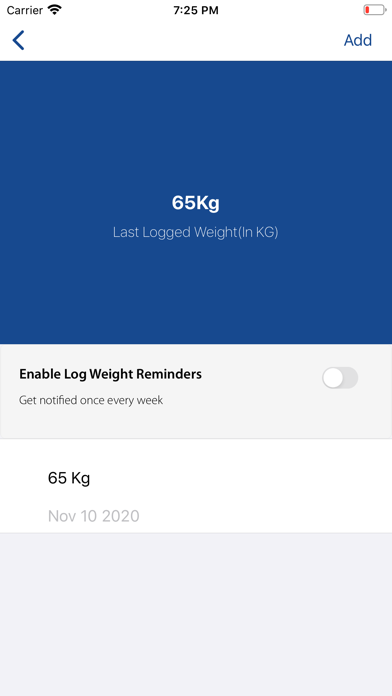 Arnold Fitness screenshot 1
