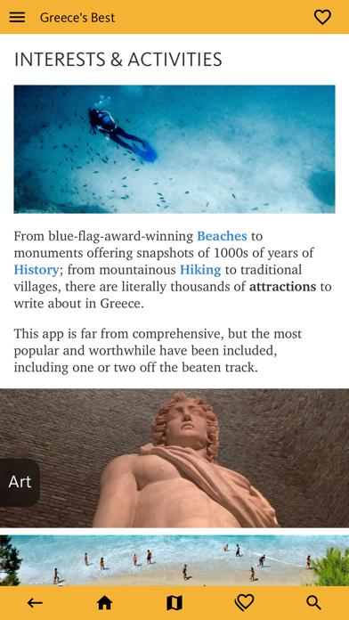 Greece's Best: Travel Guide screenshot 7