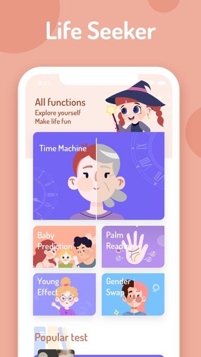 LifeSeeker-Tests&FaceEffects screenshot 9