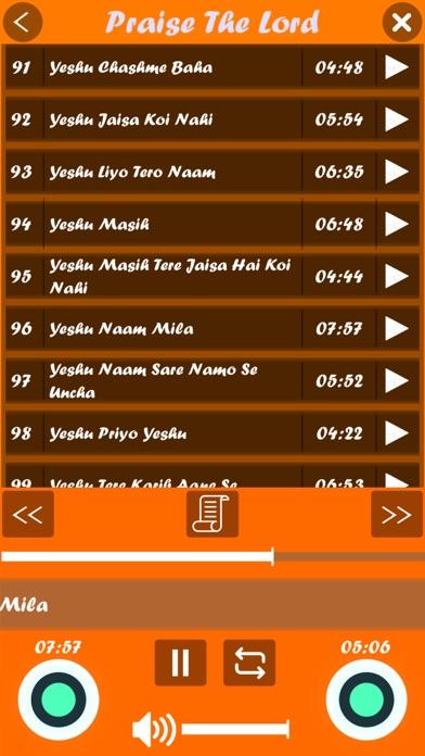Hallelujah (Hindi Songs) screenshot 6