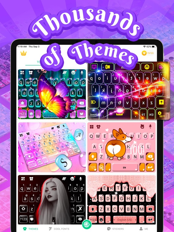 Kika Keyboard for iPhone, iPad screenshot 10