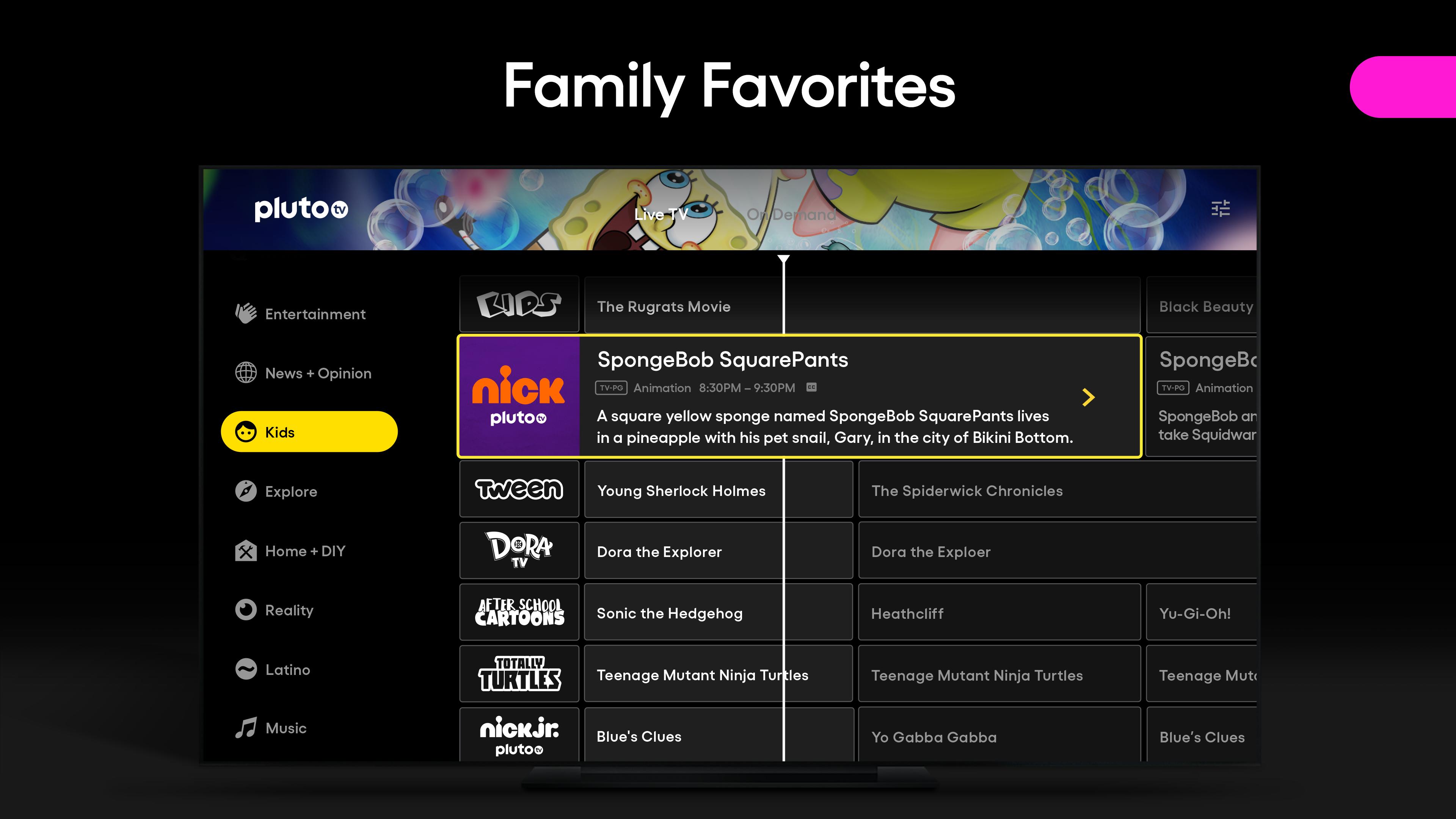 Pluto TV - Live TV and Movies screenshot 16