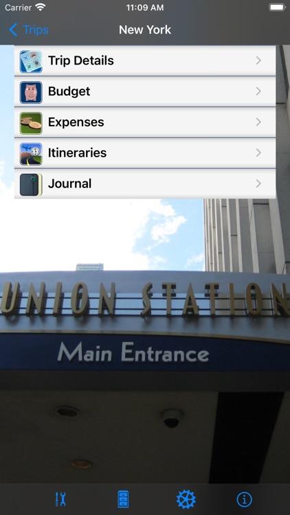 Trip Boss travel manager screenshot-7