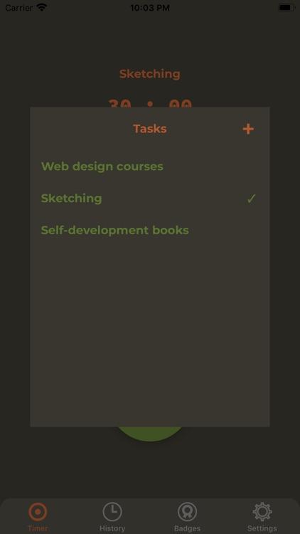 PomoWalk screenshot-4