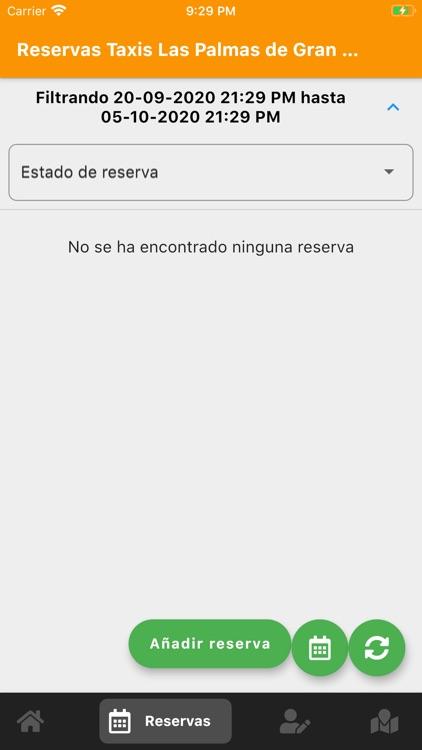 Reservas de Taxis Las Palmas screenshot-3