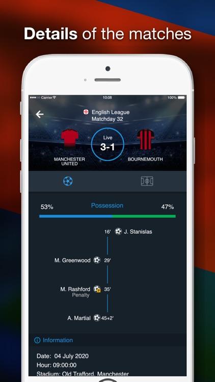 English League Scores