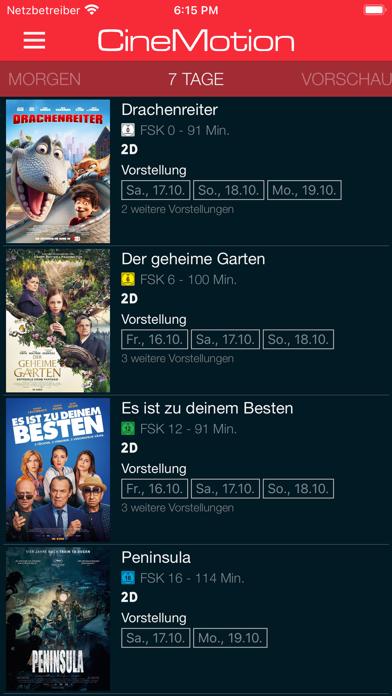 CineMotion Kino screenshot 2