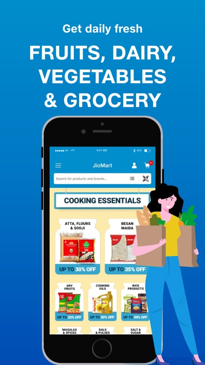 JioMart Online Shopping App screenshot-3