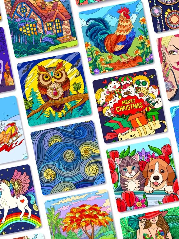 ColorPlanet: 数字で塗り絵のおすすめ画像7