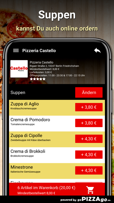 Pizzeria Castello Berlin screenshot 5