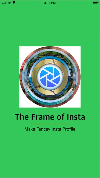 The Frame of Insta