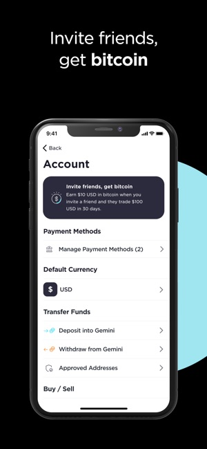 Gemini Buy Bitcoin Instantly On The App Store